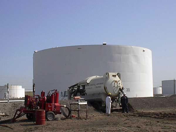 Water Tank Demolition : Tank cleaning metropolitan environmental services
