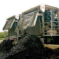 sludge dewatering byproduct