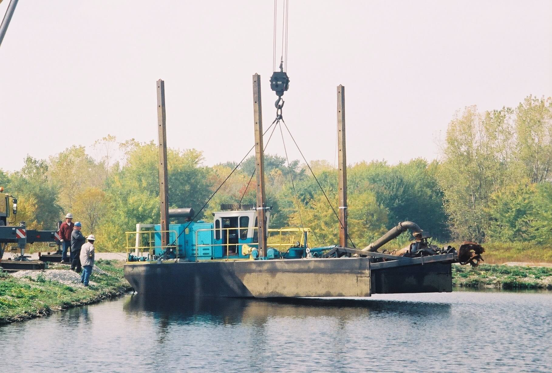Hydraulic Dredging - Metropolitan Environmental Services